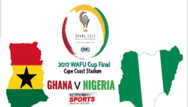 Ghana thrashes Nigeria to Win WAFU Cup, See highlights