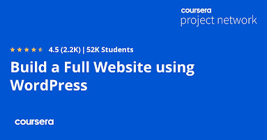 best Wordpress course from Coursera