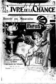 Cover of Papus's Book Le Vivre de la Chance, Bonne ou Mauvaise (1880,in French)