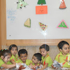 Triangle Day Celebrated by Nursery Evening Section, Witty World, Chikoowdai (2017-18)