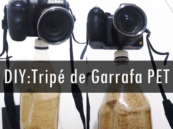 DIY: Tripé de Garrafa PET
