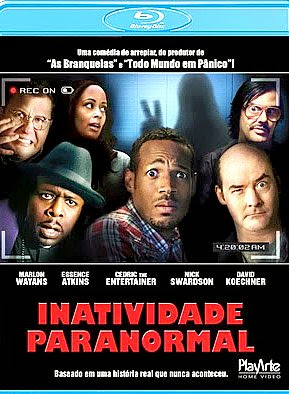 Filme Poster Inatividade Paranormal BDRip XviD Dual Audio & RMVB Dublado