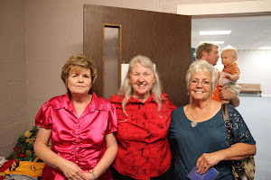 Momma Templet with 2 sisters-in-law, Barbara and Ann.