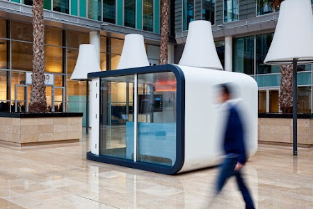 Office pod in WTC Amsterdam