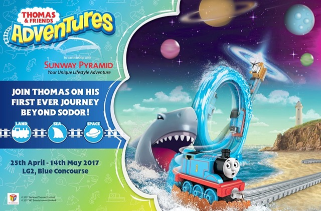 Sunway Pyramid 25 April Sehingga 14 Mei 2017  THOMAS & FRIENDS ADVENTURES  (1)