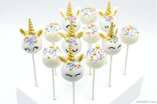 Cakepop de Unicornio