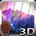 3D Kitkat 4.4 Mountain lwp icon
