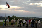 Flag Lowering after each day of the Fortnight, followed by Benediction after day-long adoration.