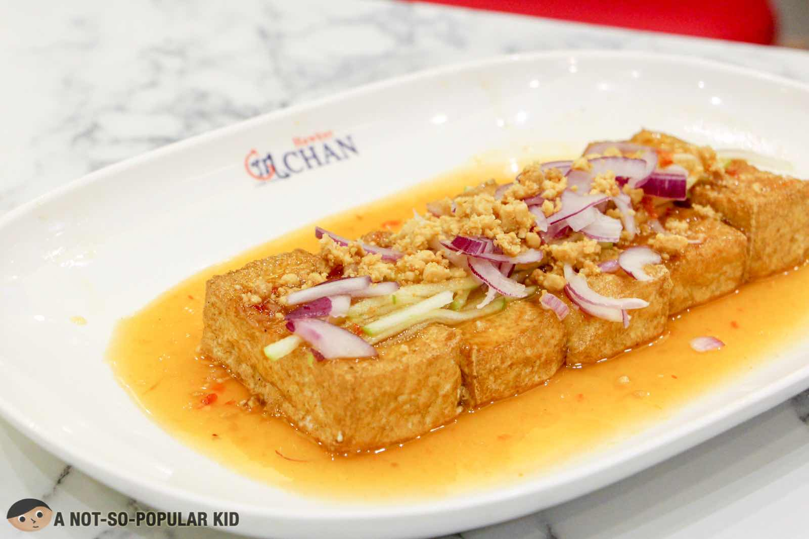 Thai Style Tofu of Hawker Chan