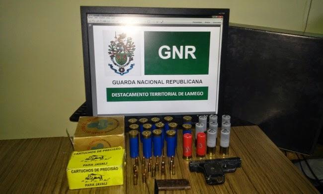 Detenção por posse de arma ilegal em Lamego