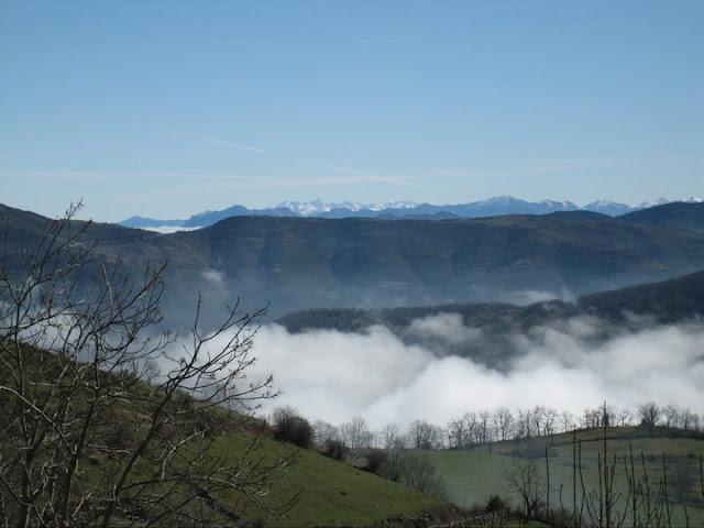 Rutas Montaña Asturias: Vista de la zona de Picos de Europa