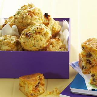 Savory Pumpkin and Feta Muffins.