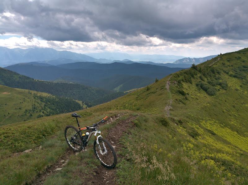Ridge riding.