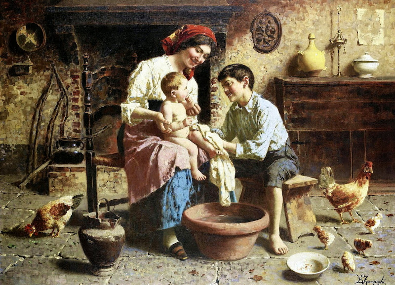 Eugenio Zampighi - Bathtime