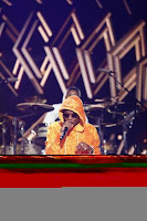 Wizkid performing on the stage