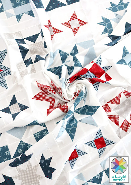 Clear Sky quilt pattern by Andy of A Bright Corner