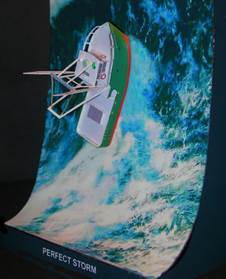 Perfect Storm Papercraft FV Andrea Gail