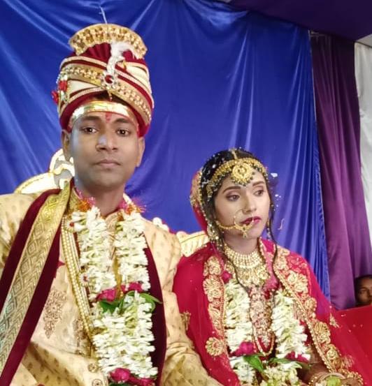 नवादा के वारिसलीगंज के पत्रकार ने दहेजमुक्त विवाह कर समाज को दिया संदेश