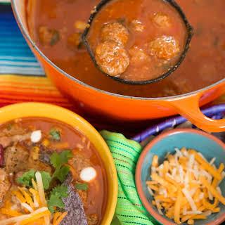 Fiesta Meatball Soup.