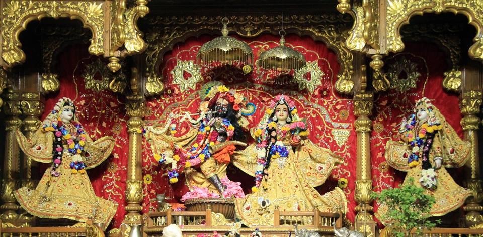 ISKCON Delhi Deity Darshan 29 May 2016 (2)