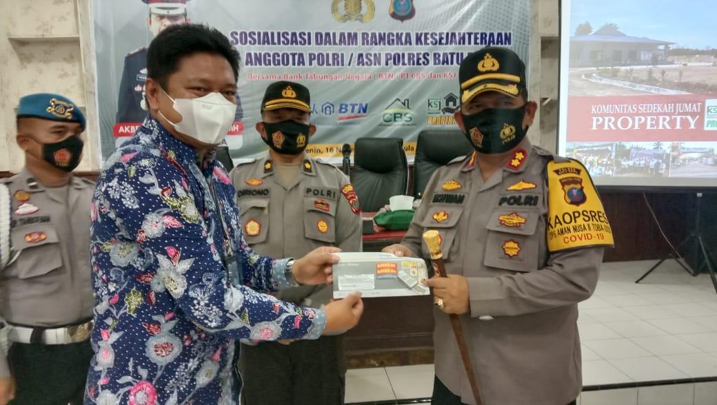 Amanah Kapolri, Sosialisasi kesejahteraan anggota Polri