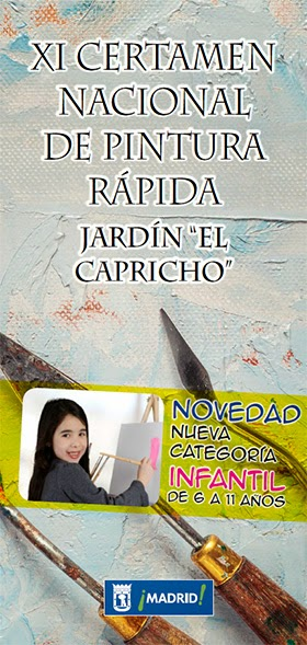 Certamen Nacional Pintura Rápida Jardín El Capricho, 9 de mayo de 2015