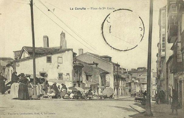 Plaza de Santa Lucía (antígua)