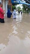 Kebanjiran Di Area Perumah Metro, Diduga Karna Gorong - Gorong Tol