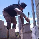 Joel going vertical!