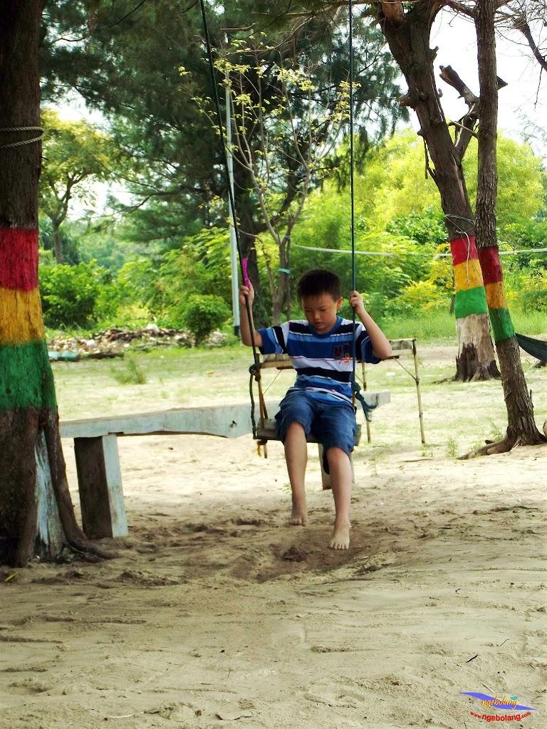 family trip pulau pari 140716 Fuji 049