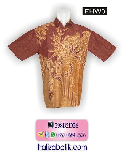 FHW3 Model Hem, Baju Hem, Baju Hem Batik, FHW3