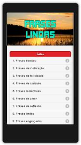 Frases Lindas Em Português screenshot 0