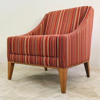 OFS/Styline Striped Armchair