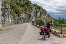 Climbing spot above Triest: Napoleonica