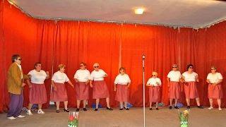 Jákó Búzavirág Nyugdíjas Klub - Nyugdíjasok tánca video
