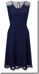 Precis dark blue lace dress