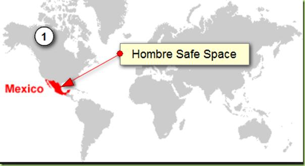 hombre safe space