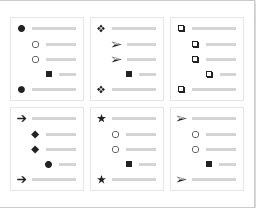 menu formats