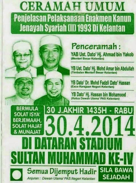 HUDUD di Negeri Kelantan?