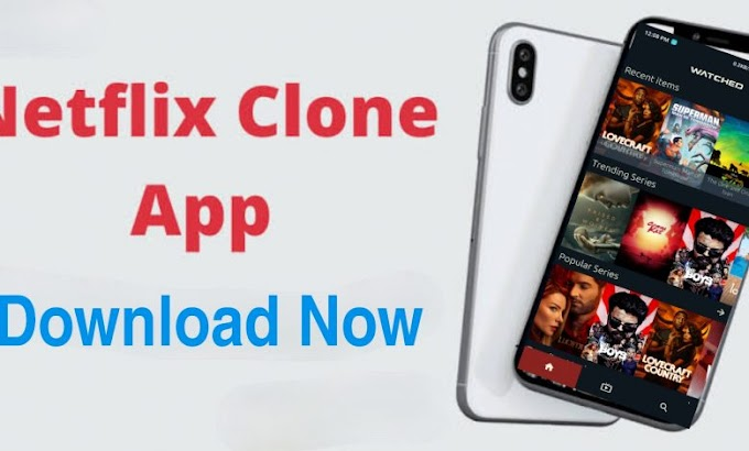 Watch Movies & Series On The Netflix Clone App For Free | Download Apk