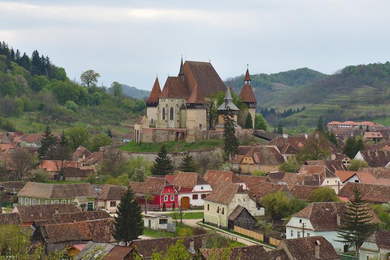 Biserica fortificata din Biertan.