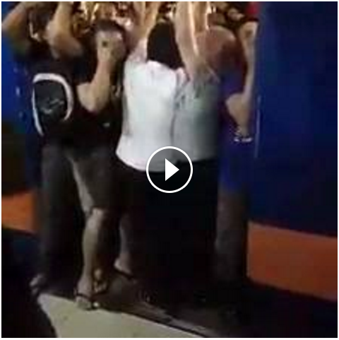 Image of A video uploaded in social media shows the painful reality for the daily passengers of the Philippine National Railways (PNR) trains. The video captured the most undesirable situation — that was the rush hour and heavy rain is pouring out.