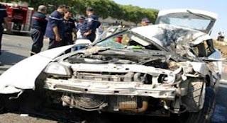 El Tarf: Trois morts et deux blessés dans le dérapage d'un véhicule