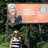 JoAnne Zapata Represents Rotary