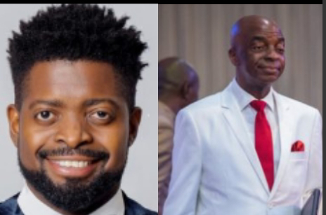 Basketmouth and Pastor Oyedepo
