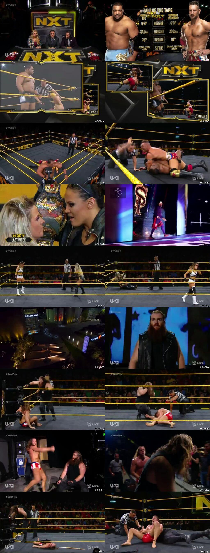 Screen Shot Of WWE NXT 25th September 2019 HDTV 480P 300MB