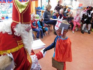 Sinterklaas groep 1 en 2