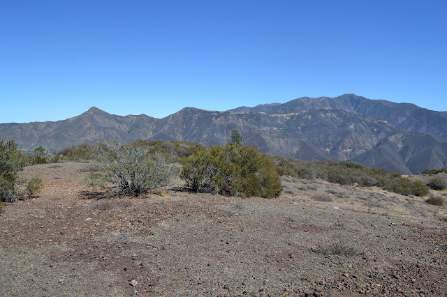 Cachuma and McKinley and San Rafael Mountains
