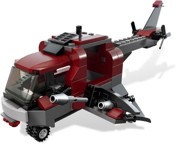 レゴ スーパー・ヒーローズ ウルヴァリンの ヘリ対決 6866