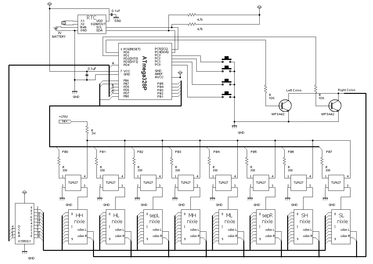 main board schematic